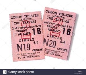 16 августа 1963: концерт Битлз в Odeon Cinema, Лландудно
