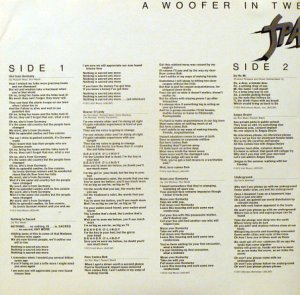 28. Sparks A Woofer in Tweeter's Clothing (1973)