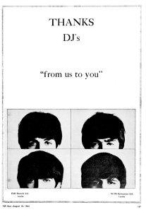 Cash Box 15 August 1964