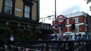 Пабы...Вот что самое лучшее в Англии! Pub Salmon and Ball, Bethnal Green, London UK.