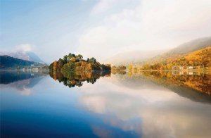Reflections on Grasmere Water by Nadia Isakova