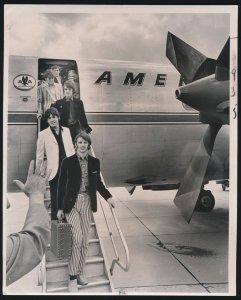 21 августа 1966, Сент-Луис  Прилёт в аэропорт Ламберт в Сент-Луисе.