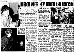 New Musical Express 3 December 1966