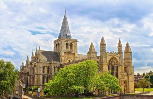 Rochester Cathedral, England's Second Oldest Cathedral by Ray in Manila