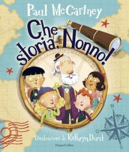 Книга дедушкиных сказок вышла и в Италии, под названием Какая история, дедушка!. Всего 16 евро.