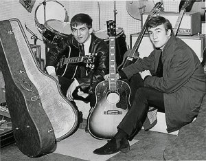Квитанция магазина Рашуорт за гитару Джона датирована понедельником 10 сентября 1962 года, но Джон, по крайней мере, кажется, получил её несколькими днями ранее. Билли Мэй, гитарист из Beat Cats, который выступал в одном концерте с Beatles в YMCA, вспоминает, что Леннон провел с ним эту субботнюю ночь на сцене.
