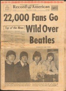 18 августа 1966  Somerset Hotel, Boston