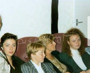 * 1980's Mccartney family - Mary, James, Linda & Stella.