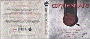 Slip Of The Tongue 30th Anniversary 2CD Deluxe Edition  Сегодня вышел.