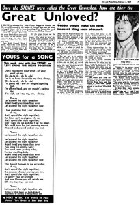 Disc and Music Echo 4 February 1967