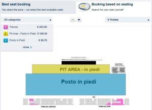 Несмотря на купленные билеты в ближнюю фан-зону в Неаполе (Pit Area - Posto In Piedi) борюсь с желанием купить билеты на трибуну.