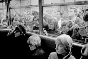 Кит Ричардс, Брайан Джонс, Ширли Уоттс - Германия, 1965