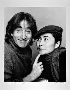 In memory of John ... © Jack Mitchell - John Lennon and Yoko Ono photographed November 2, 1980
