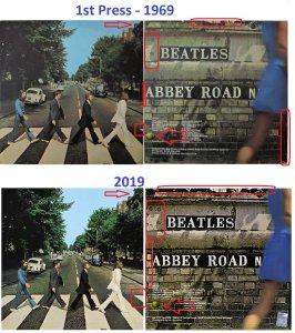 Чем отличается обложка первопреса 1969 года и юбилейная обложка 2019 г.