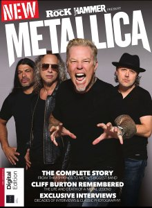 Classic Rock & Metal Hammer Special Metallica 3rd Edition 2019 – 148 стр., 299 Мб, PDF