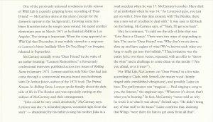 Вот здесь, на 60-й странице книги из делюкса Wild Life, указано, что альбомная версия Dear Friend записывалась Полом под в марте 1971-го. По факту, это уже не Ram, конечно: Баран к тому времени уже был закончен. Но джоновский Imagine, как известно ещё не был начат.