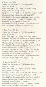 Далее на 123 странице находим такой факт: наложение оркестра на Dear Friend записывалось 24 июля 1971 года. Альбом Imagine ещё не вышел.
