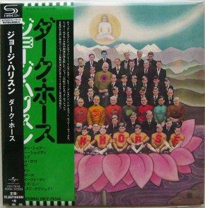 George Harrison: Dark Horse. [Limited Edition SHM-CD Cardboard Sleeve (mini LP)].