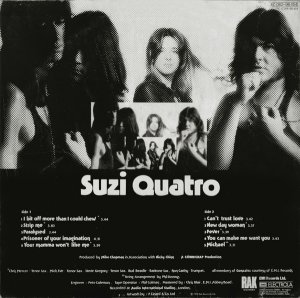 Suzi Quatro альбом Your Mamma Won't Like Me (1975)