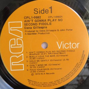 Dana Gillespie – Ain't Gonna Play No Second Fiddle