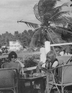 Брайан с Линдой Кит - Цейлон, декабрь 1967 г. - январь 1968 г. Photo by Guntram Suske