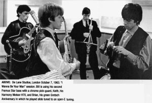 7th October 1963 - London, De Lane Lea Studios, Holborn.