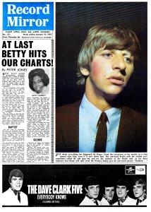 Record Mirror 16 January 1965