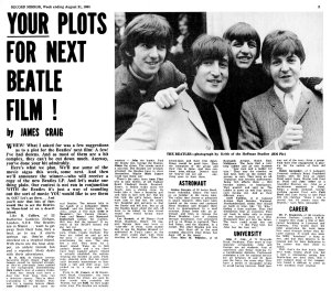 Record Mirror 21 August 1965