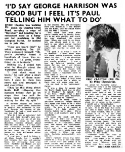 Record Mirror 13 August 1966
