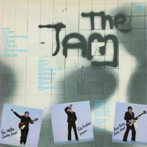 The Jam Back cover