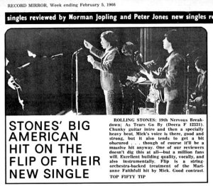 Record Mirror 5 February 1966