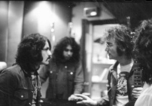 * Wayne Tex Gabriel, Adam Ippolito, John Lennon and Rick Frank.