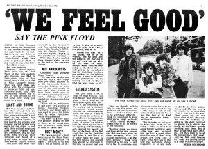 Record Mirror 21 October 1967