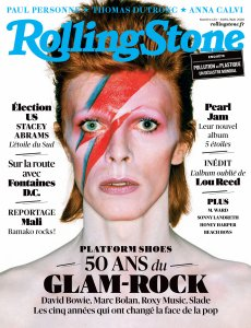 Rolling Stone France April 2020.