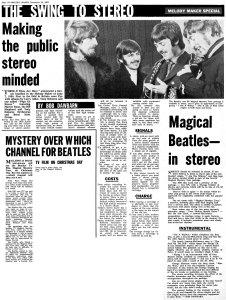 Melody Maker 25 November 1967