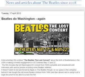Как ждали The Beatles: The Lost Concert,не дождались. Тут тоже вирус помешать может.