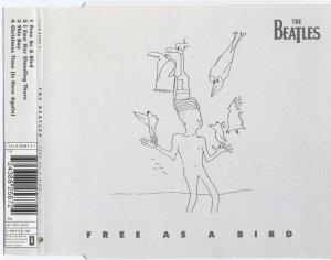 Нашёл ещё сканы сингла Free as a Bird (1995)