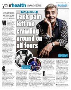 Участники Sex Pistols нынче появляются на страницах, посвящённых здоровью. Daily Express сегодня.