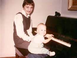 Грегг Биссонетт с мамой.