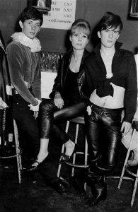 Klaus, Astrid and Stuart.