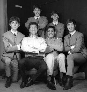 1 сентября 1963, with Mike and Bernie Winters1 сентября 1963, with Mike and Bernie Winters