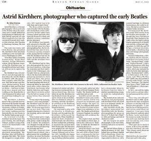 Boston Globe сегодня.