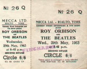 29 мая 1963 Концерт Битлз: Rialto Theatre, Йорк