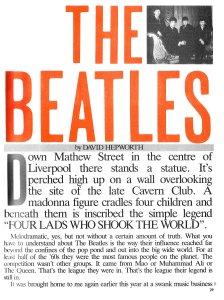 Smash Hits Yearbook 1984 (выход в конце 1983)