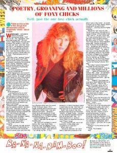 Smash Hits 8 April 1987