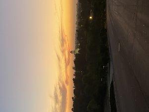 О, калифорнийское небо! Сегодня не удержался, остановил машину на холме и запечатлел: