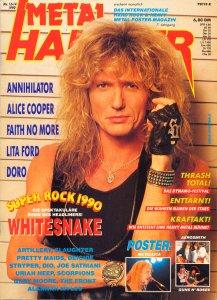 Metal Hammer Germany July 1990