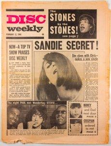 DISC WEEKLY  12 февраля 1966