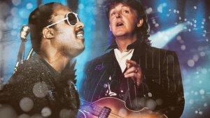 * Paul McCartney & Stevie Wonder *
