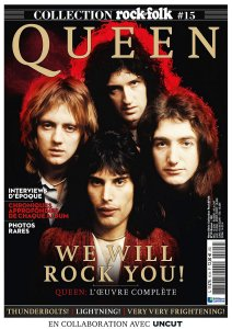 Rock and Folk Special No 15 2020 Queen – 132 стр., 108 Мб, PDF